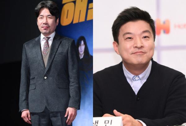 ▲배우 오달수(좌), 방송인 김생민.(이투데이DB)
