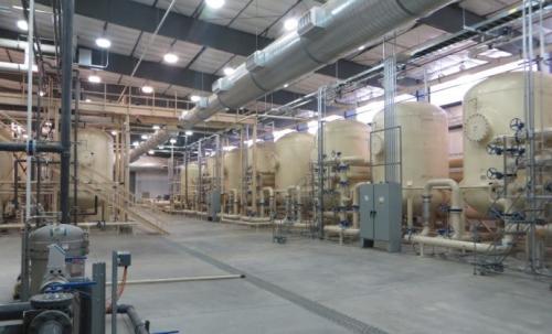 ▲미국 UR-에너지의 우라늄 가공공장. 출처 UR-에너지 웹사이트