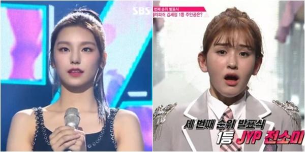 (출처=SBS '더 팬', Mnet '프로듀스101' 캡처)