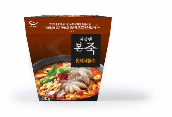 ▲ 본아이에프 '해장엔본죽 황제해물죽' (본아이에프)