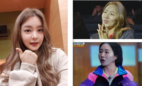 (출처=서유리 SNS, SBS '더팬' '집사부일체' 캡처)