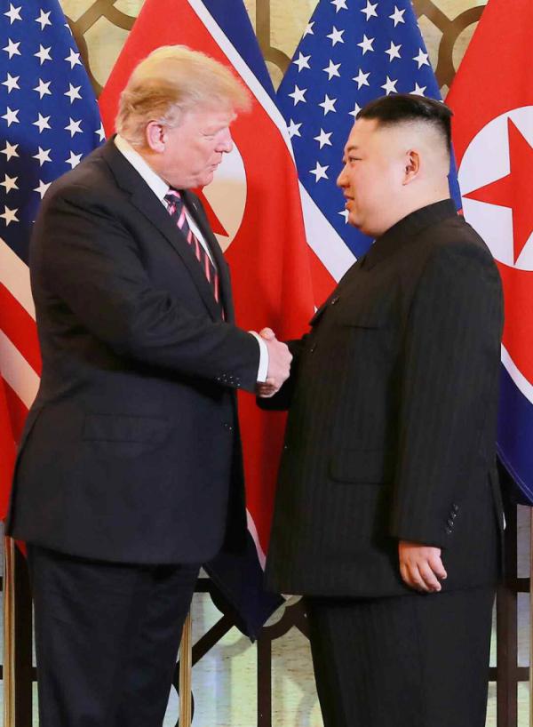 ▲트럼프 미국 대통령(왼쪽)과 김정은 북한 국무위원장.(연합뉴스)