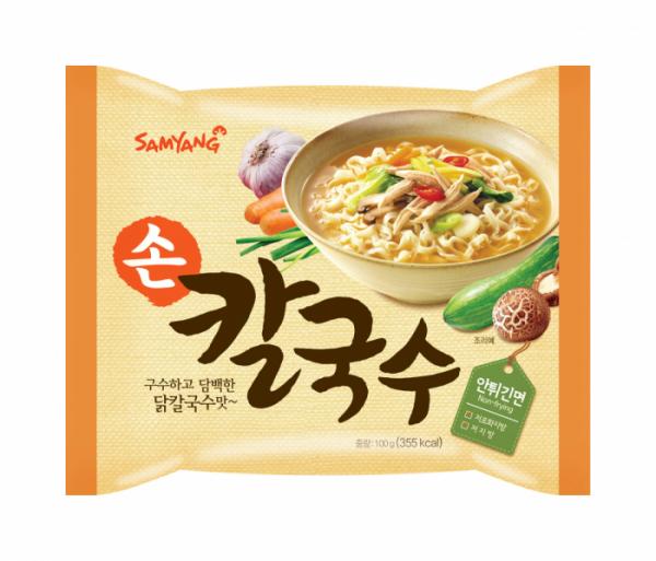 ▲삼양식품 손칼국수(사진제공=삼양식품)