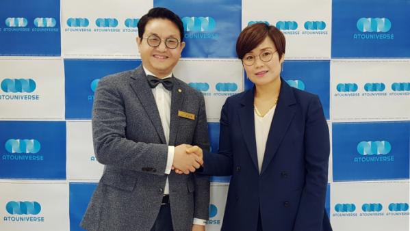 ▲이상혁 대표와 임오경 감독
