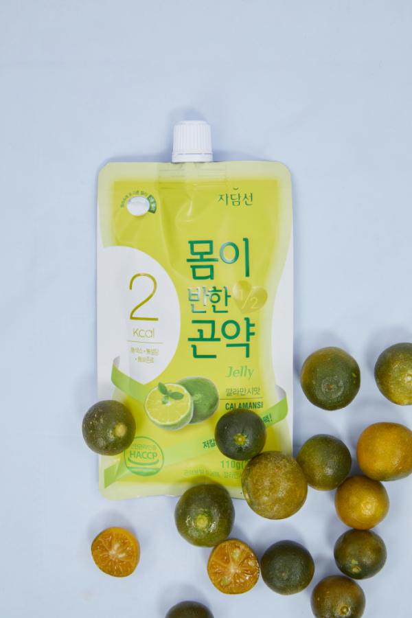 ▲자담선 '몸이 반한 곤약젤리'.(사진제공=인이스홀딩스)