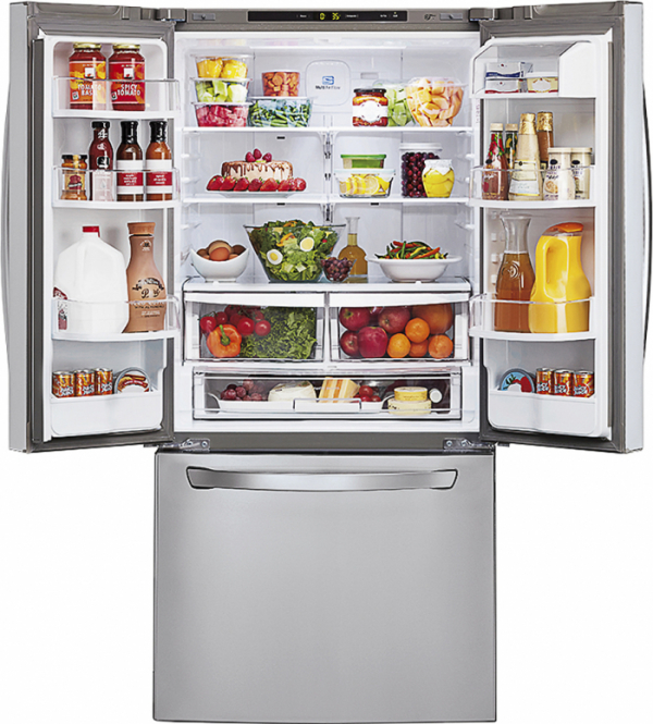 ▲LG전자 프렌치도어 냉장고 (사진제공 LG전자)