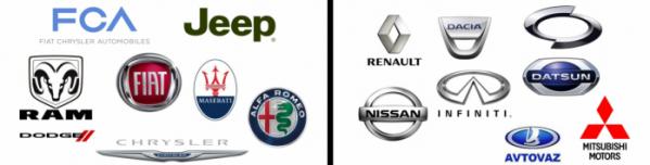 ▲이번 합병에서 구체적으로 르노-닛산 얼라이언스에 대한 향후 계획이 발표되지 않았지만 이들 연합체가 모두 뭉치게되면 총 16개 글로벌 브랜드가 동맹을 맺는 셈이 된다.