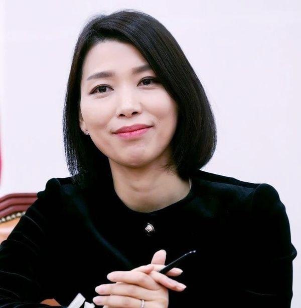 ▲김정화 바른미래당 대변인