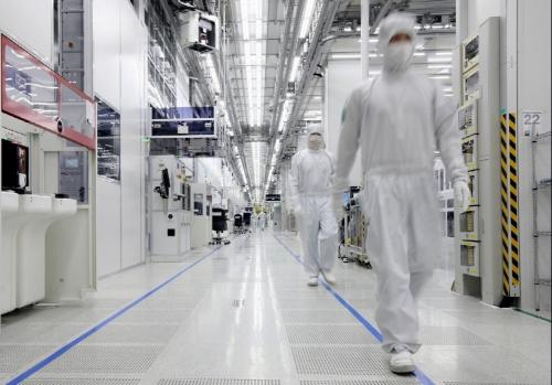 ▲중국 시안의 삼성전자 반도체 공장. 시안/뉴시스