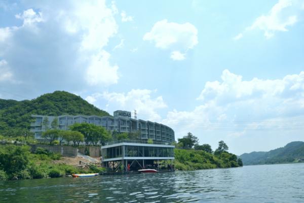 ▲마이다스 호텔&리조트가 수상레저시설 '트리톤스' 오픈했다고 8일 밝혔다.(사진제공=대교그룹)