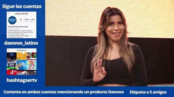 ▲파나마 법인 디지털 마케팅 홍보 영상(사진제공=위니아대우)