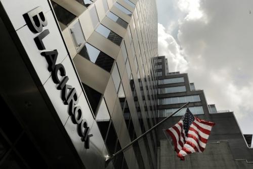 ▲뉴욕에 있는 세계 최대 자산운용사 블랙록 건물 전경. 뉴욕/로이터연합뉴스