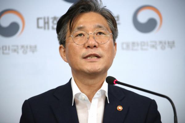 ▲성윤모 산업통상자원부 장관(연합뉴스)