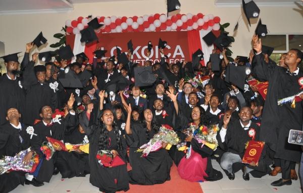 ▲LG전자는 올해 6월 에티오피아 수도 아디스아바바에 있는 'LG-KOICA 희망직업훈련학교'에서 '제3회 LG-KOICA 희망직업훈련학교 졸업식'을 개최했다. 사진제공 LG전자