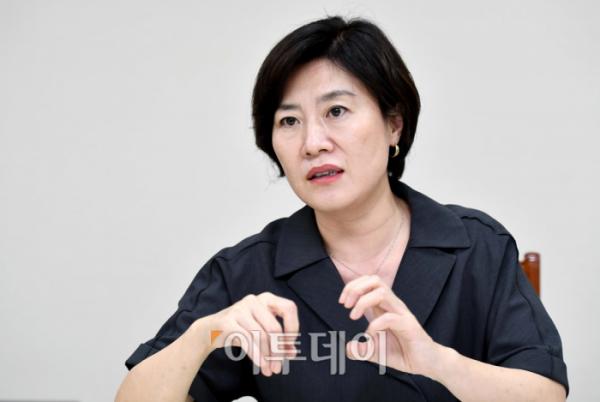 ▲김희경 여성가족부 차관. (이투데이DB)