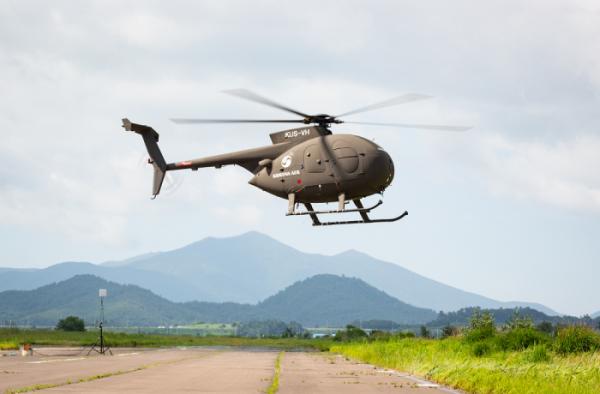 ▲대한항공 500MD 무인헬기 (자료제공=대한항공)