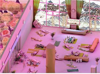 ▲다가오는 미래의 새로운 거주 전형, 찜질방 '집 없는 문명'(사진 = 서울시)