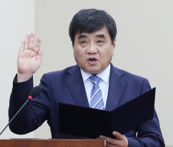 ▲한상혁 방송통신위원장(연합뉴스)