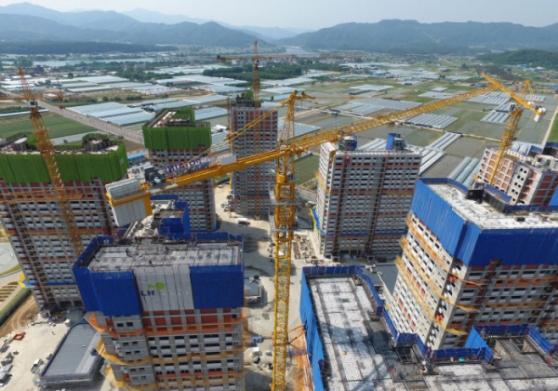 ▲강원도 한 아파트 건설현장  (연합뉴스)