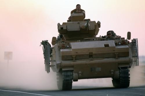 ▲9일(현지시간) 터키군이 시리아 북동부 국경도시에 대한 지상작전을 개시했다. 시리아/EPA연합뉴스