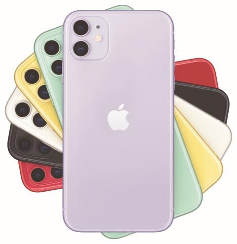 ▲아이폰 11(사진제공=LG유플러스)