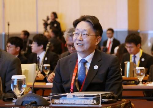 ▲아시아 국세청장회의에 참석한 김현준 국세청장