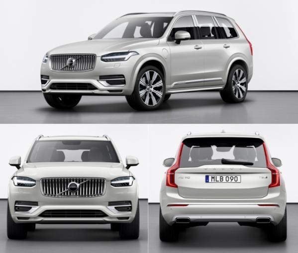 ▲볼보코리아가 플래그십 SUV인 XC90의 부분변경 모델을 출시했다. 가격은 이전과 동일하다. (사진제공=볼보자동차코리아)