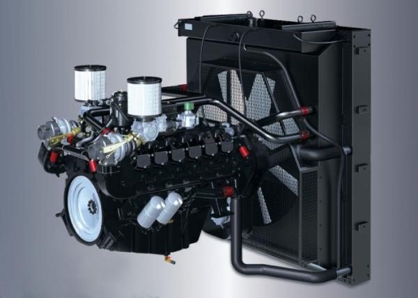 ▲두산인프라코어가 PSI에 공급하는 22리터급 천연가스 엔진.(사진제공=두산인프라코어)