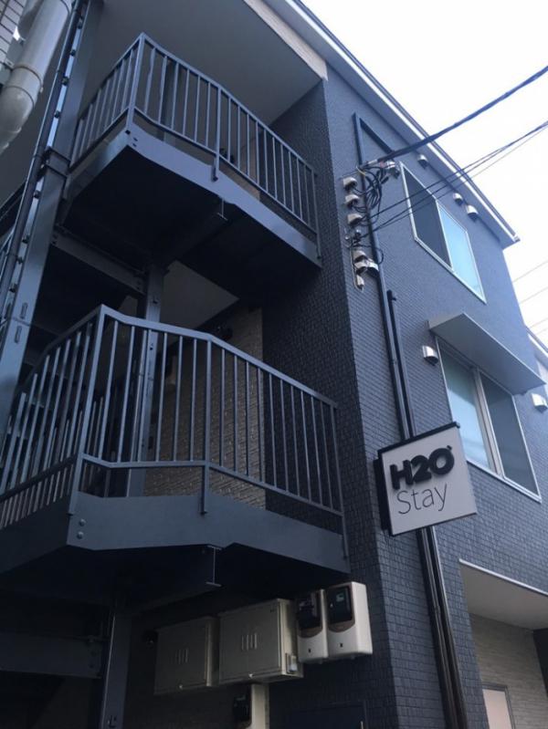 ▲일본 도쿄 이케부쿠로에 있는 H2O스테이 건물.(사진제공=H2O호스피탈리티)