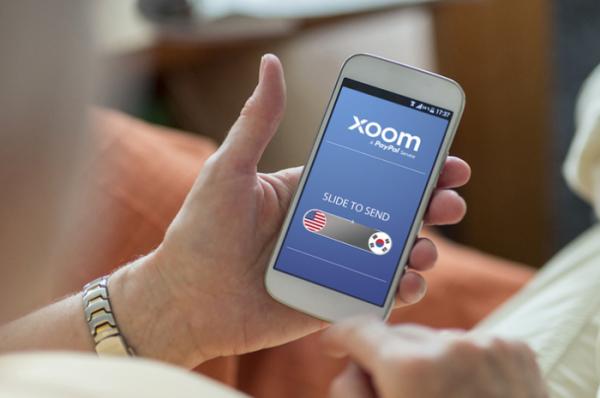 ▲'Xoom닷컴' 앱 (사진제공=페이게이트)