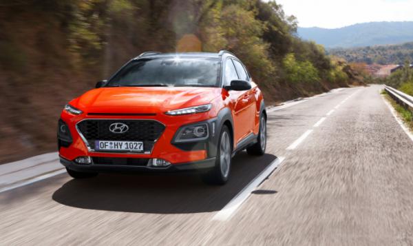 ▲현대자동차의 소형 SUV '코나'가 독일의 유명 자동차 잡지 '아우토 빌트(Auto Bild)'에서 실시한 소형 디젤 SUV 4종 비교 평가에서 가장 우수한 모델로 선정됐다. (사진제공=현대차)
