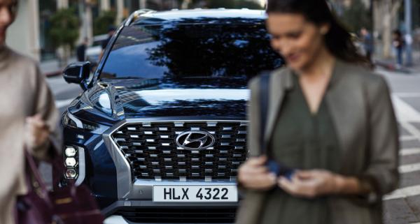 ▲미국 차 시장이 23.5% 감소된 가운데 일본차는 26.1%나 판매가 줄었다. 그나마 한국차는 16.2% 감소세에 그쳐 선방한 것으로 조사됐다. 팰리세이드(사진)를 비롯한 전체 SUV 판매가 3% 안팎까지 증가한 덕이다.  (사진제공=현대차)
