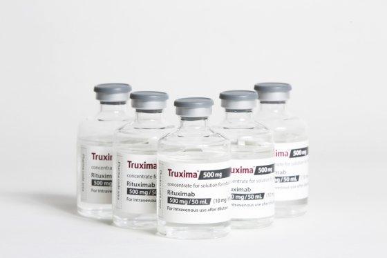 ▲셀트리온의 항암제 바이오시밀러 트룩시마 제품.  (셀트리온헬스케어)