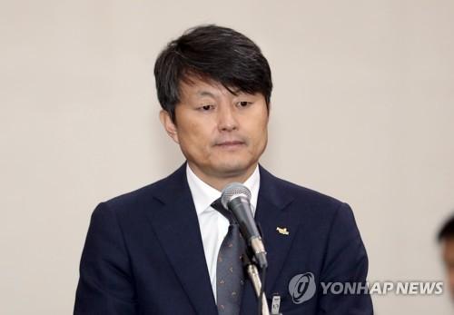 ▲유재수 전 부산시 부시장 (연합뉴스)