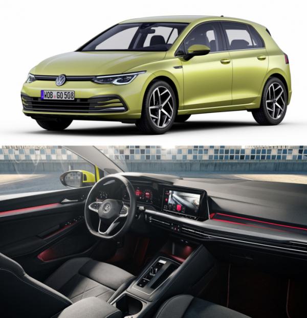 ▲폭스바겐 골프가 8세대로 거듭났다. 글로벌 소형차의 교과서로 추앙받아온 만큼, 새 모델은 차 안팎에 최신 유행을 고스란히 담아내며 새 기준을 제시한다.   (출처=VW AG 미디어)
