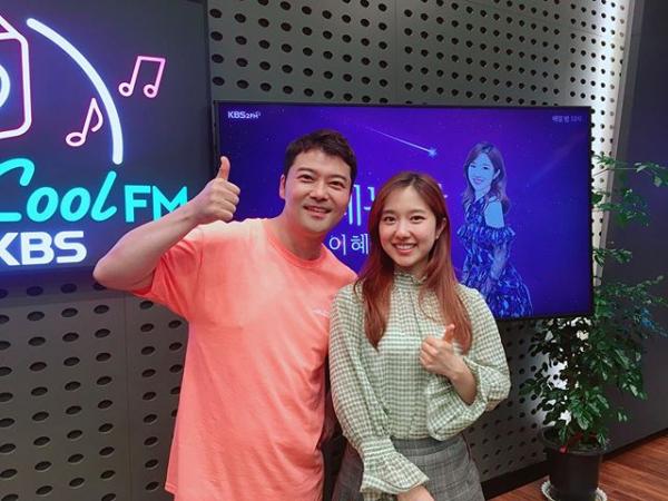 (출처=KBS쿨FM '설레는 밤, 이혜성입니다' 인스타그램 )