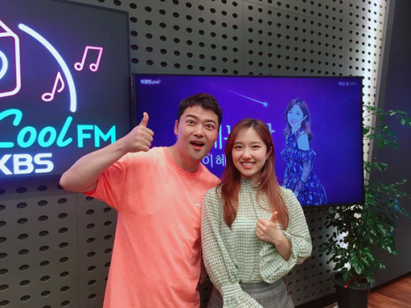 ▲전현무 이혜성 (사진=KBS 쿨FM '설레는 밤 이혜성입니다' 인스타그램)