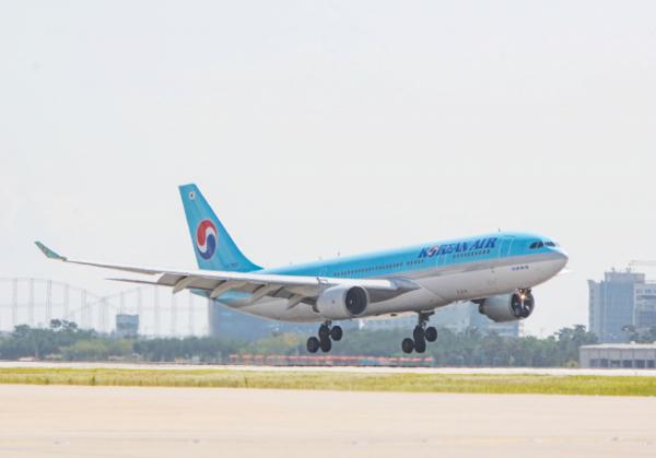 ▲A330-200 Landing