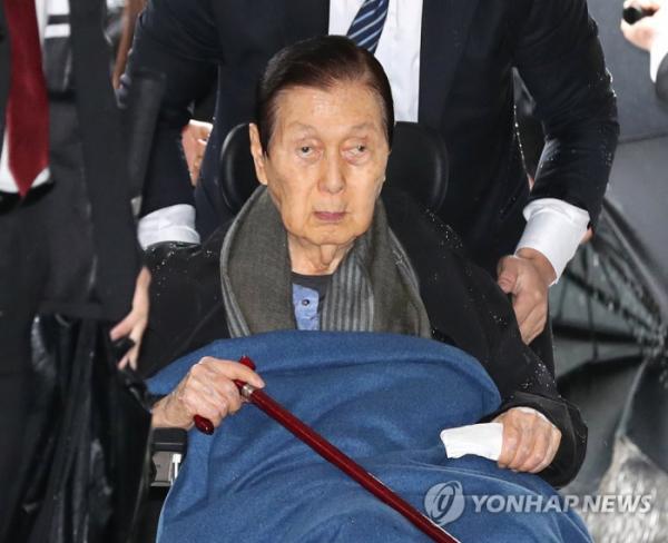 ▲신격호 롯데 명예회장 (연합뉴스)