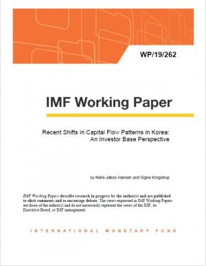 ▲IMF가 원화채권시장을 글로벌 안전자산으로 인정했다. 사진은 지난달말 이같은 내용을 담은 IMF 워킹페이퍼 표지 이미지.