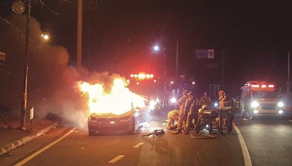 ▲최근 일주일 사이 BMW 차량 6대에서 불이나 정부가 조사에 들어갔다. (뉴시스)