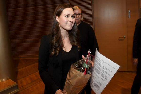 ▲'지구촌 현역 최연소' 산나 마린(34) 핀란드 총리. 로이터연합뉴스