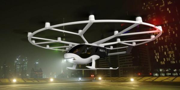 ▲독일 메르세데스-벤츠가 투자한 볼로콥터는 지난해 2세대 콘셉트 '볼로시티'를 선보였다. 지금 당장 이용해도 모자람이 없을 만큼 양산형에 가까운 게 특징이다.  (출처=뉴스프레스UK)