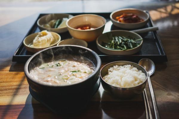 ▲부산에 가면 맛봐야 하는 돼지국밥.