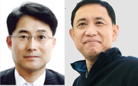 ▲유은상 YJA인베스트먼트 대표, 최원연 인포뱅크 사외이사 (사진제공=각 사 홈페이지 )