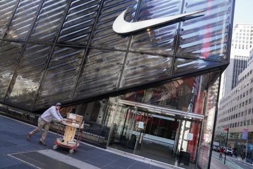 ▲미국 뉴욕시에 있는 나이키 매장. 로이터연합뉴스