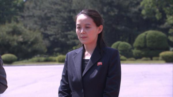 ▲김여정 북한 조선노동당 선전선동부 제1부부장 (뉴시스)