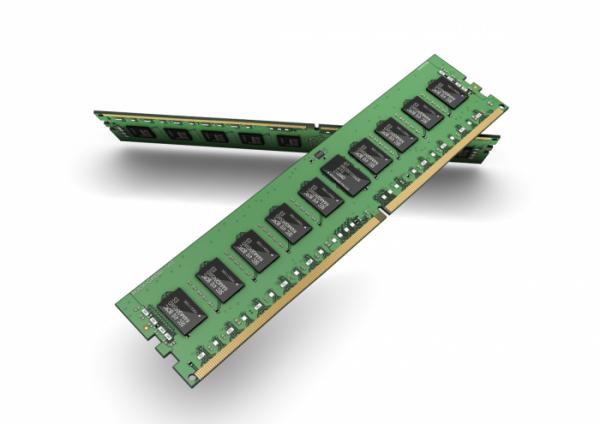 ▲D램 모듈 (사진제공=삼성전자)