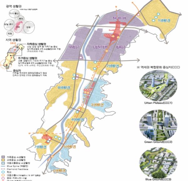 ▲교산신도시 도시공간계획 공모 최우수작. (자료 제공=국토교통부)
