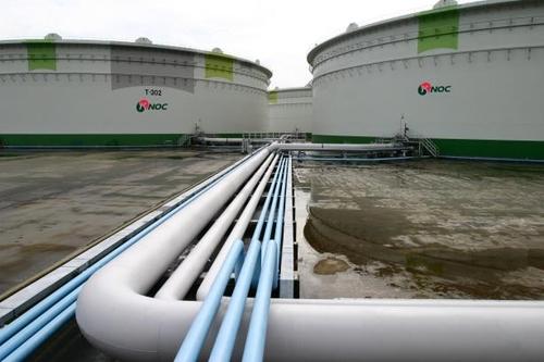 ▲한국석유공사 비축기지 (사진제공=한국석유공사)